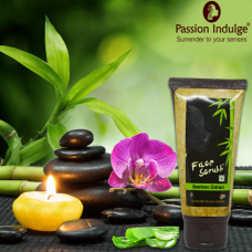 Passion Indulge Bamboo Extract Face Scrub For Weekly Regime - 70 Gm