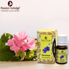 Passion indulge Geranium Essential oil (Amber) 10ml