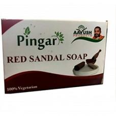 Aayush Santosh Guruji Pingara Sandal Soap 70gm