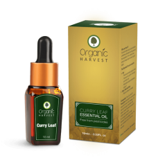 Organic Harvest Curry Leaf Essential Oil 10ml