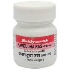 Baidyanath Kamadudha Ras (ORD) 40 Tablets
