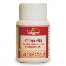Shree Dhootapapeshwar Saptamrut Loha 60 Tablets